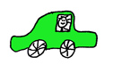 autootje groen
