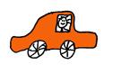 autootje oranje