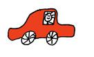 autootje rood