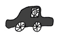 autootje zwart