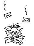 post bedolven